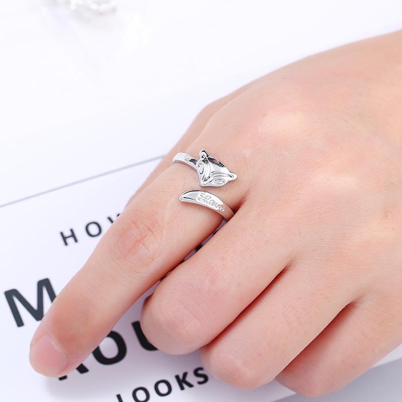 Alloy Korea Geometric Ring  (White K white) NHKQ1857-White-K-white
