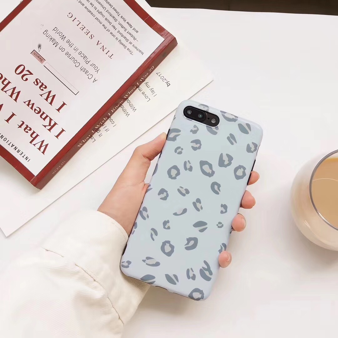 Net red leopard print Applicable to Apple X mobile phone case iPhonexs max/xr/8plus/7/6s all-inclusive soft shell