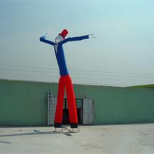 厂家直销充气模型空中舞星双腿充气跳舞人气模人广告拱门节日庆典