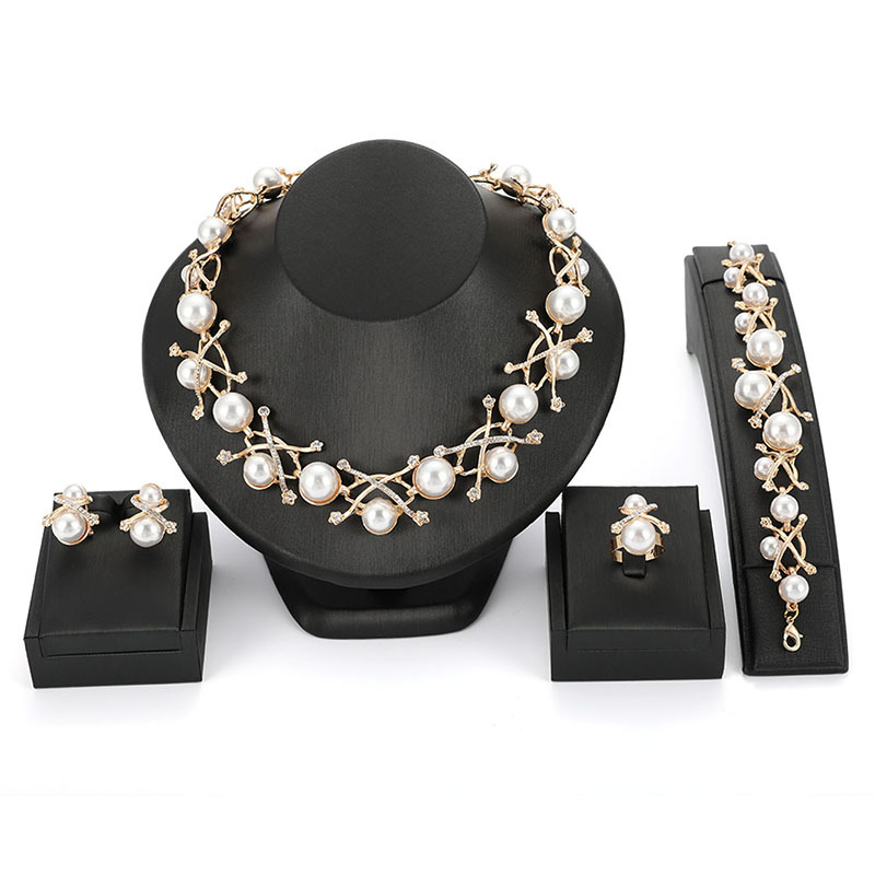 Alloy Fashion  necklace  (61174440 alloy) NHXS1675-61174440-alloy