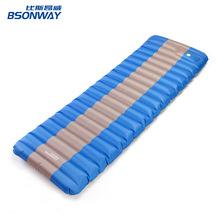厂家定制款按压充气垫 便携户外防水防潮睡垫脚踩式加厚气垫