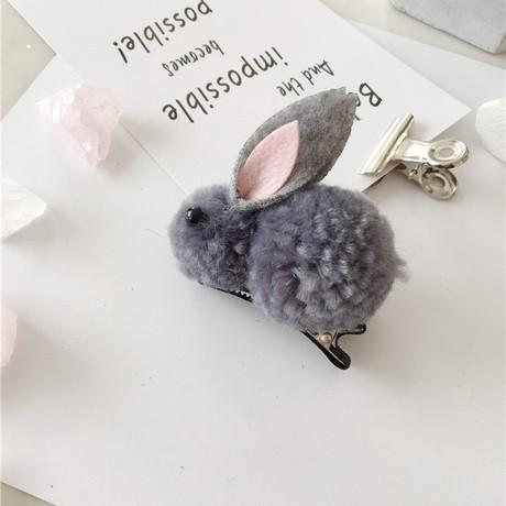 Siêu dễ thương ba chiều lông thỏ dây tóc vòng phim hoạt hình cừu lông vòng tròn Hàn Quốc ins Children cao su ban nhạc phụ kiện tóc nữ