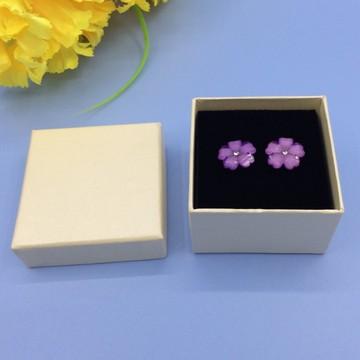 东莞厂家供应新款珠宝首饰盒 天地盖盒耳钉耳环盒子包装盒定制