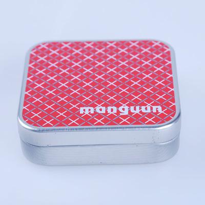 新款热销礼品铁盒 正方形铁盒 首饰品铁盒 马口铁盒制定厂家