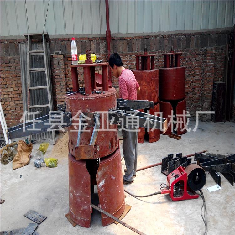 厂家供应地基打桩机 电动洛阳铲小型地基打桩机 可行走型打桩机