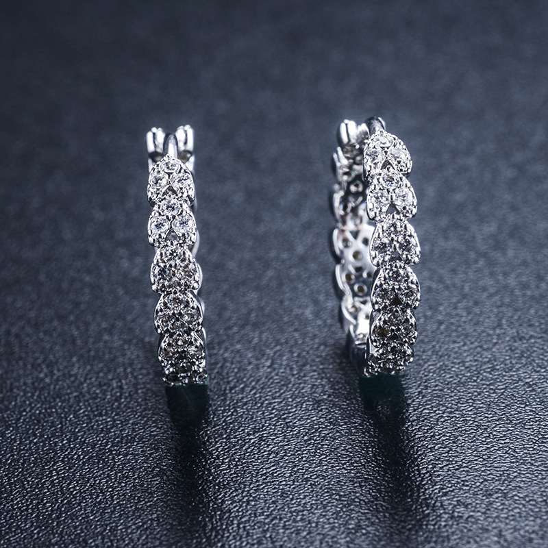 Alloy Korea Geometric earring  (Alloy) NHLJ3885-Alloy