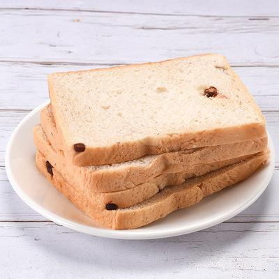 厂家直销吐司面包红豆切片酒店餐饮早餐面包加工定制代工整箱批发