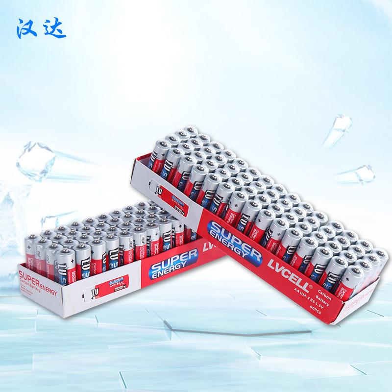 5号电池 五号碳性发光地摊小玩具波波球赠品aa干电池厂家批发