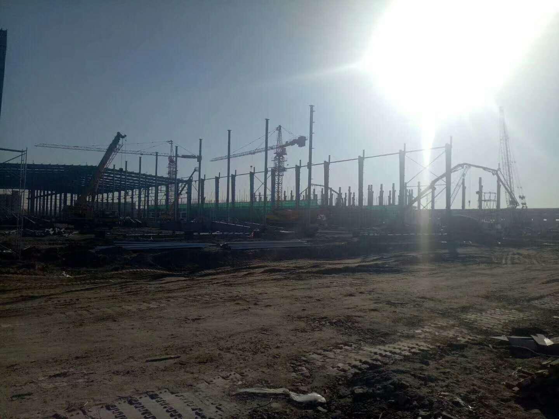 天津盛维钢构曹妃甸钢结构承包项目