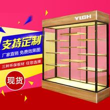 蛋糕樣品柜面包展示柜高柜模型展示架食品展示柜木制邊柜鐵藝