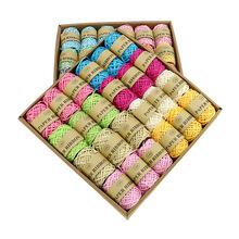 新品推荐 学生创意手工 24卷每盒DIY创意手工编织绳 盒装编织绳