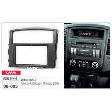 汽车通用CD音响DVD导航改装面框适用于三菱帕杰罗ShogunMontero
