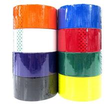 彩色封箱胶带 印刷胶带 红色胶带 可定制多种颜色规格不掉胶