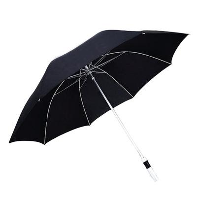 商务伞定制高档男士自动长柄高尔夫伞30寸大铝合金纤维防风直杆伞