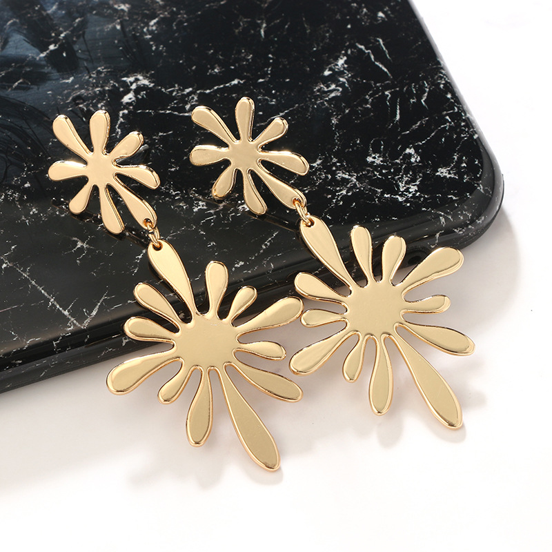 Alloy Fashion Flowers earring  (Alloy) NHGY2380-Alloy