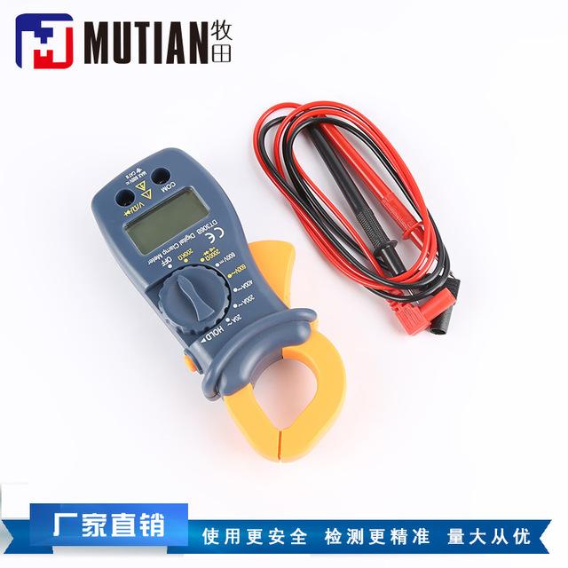 宁波山姆士制造钳形万用表 手持交直流钳形电流表 钳流表 供应