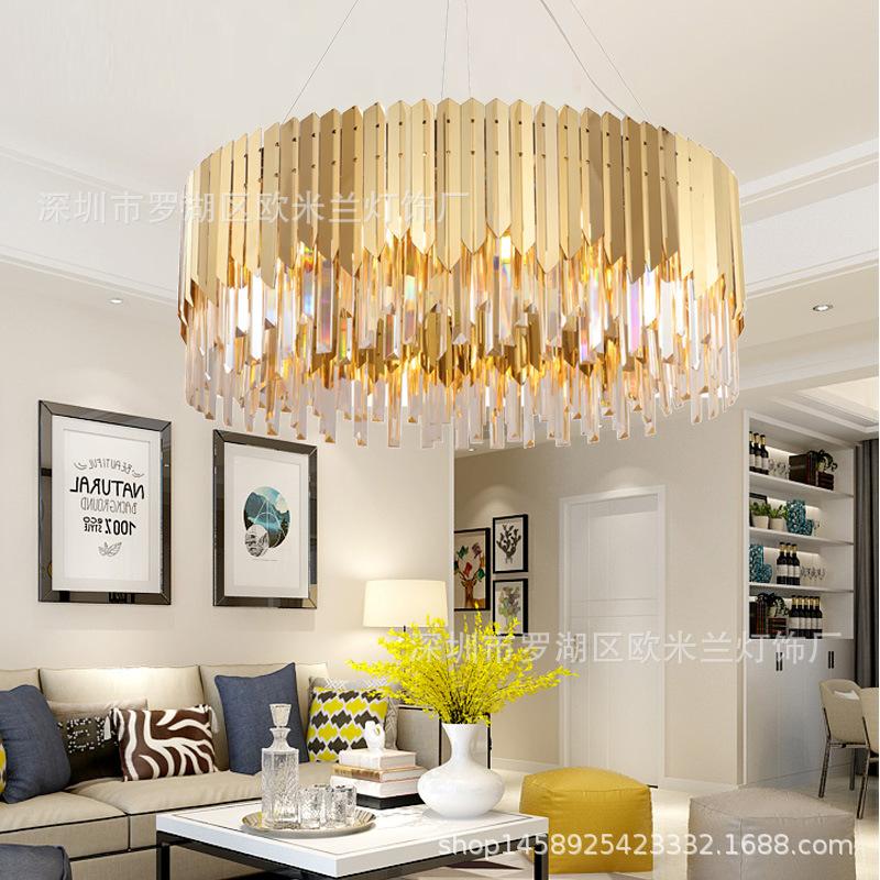 餐厅吊灯后现代客厅简约个性轻奢新设计高端酒店大厅别墅水晶灯具