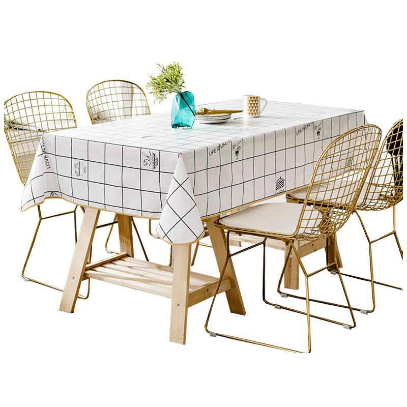 防水耐高溫PVC軟質玻璃透明餐耐高溫塑料耐高溫免洗茶幾墊臺布桌