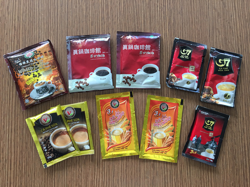 sample coffee bag
