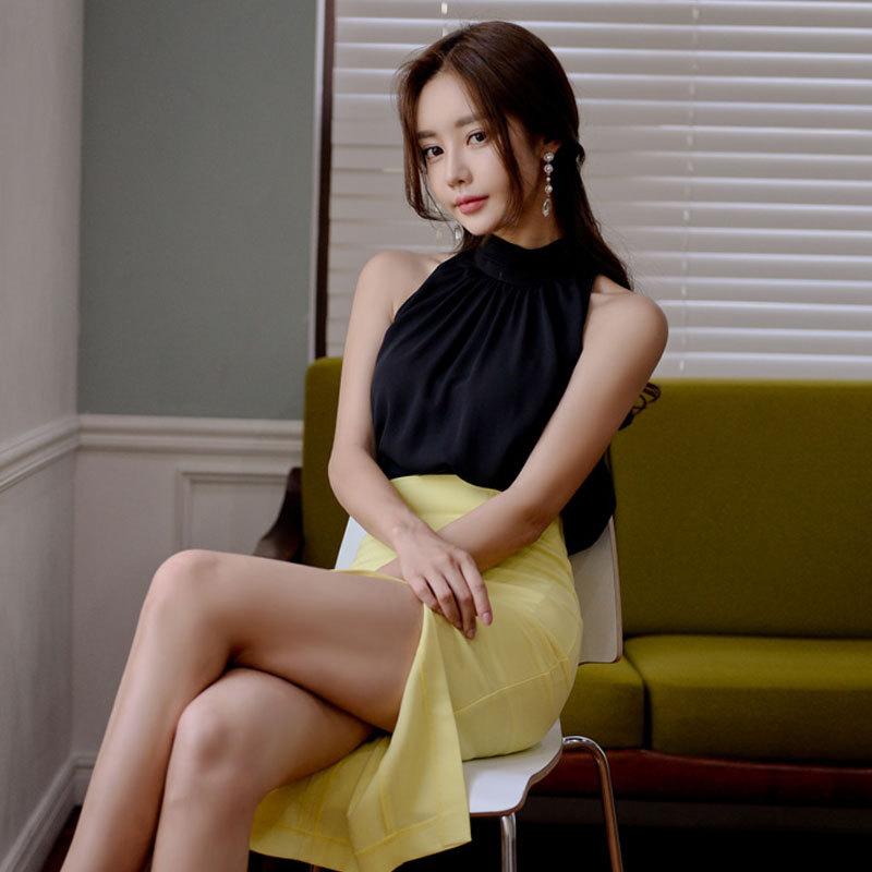 2020新款套装女韩版时尚气质夏季潮名媛性感夜场包臀裙两件套