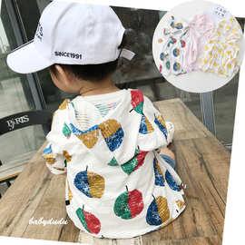 宝宝防晒衣服男女0-1岁3小童婴儿外套夏季6-12个月薄款透气男童潮