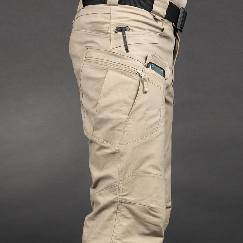 Tactical Pants Spring Men's Camouflage Pants Overalls Autumn Multi-pocket Pants Wear-resistant
