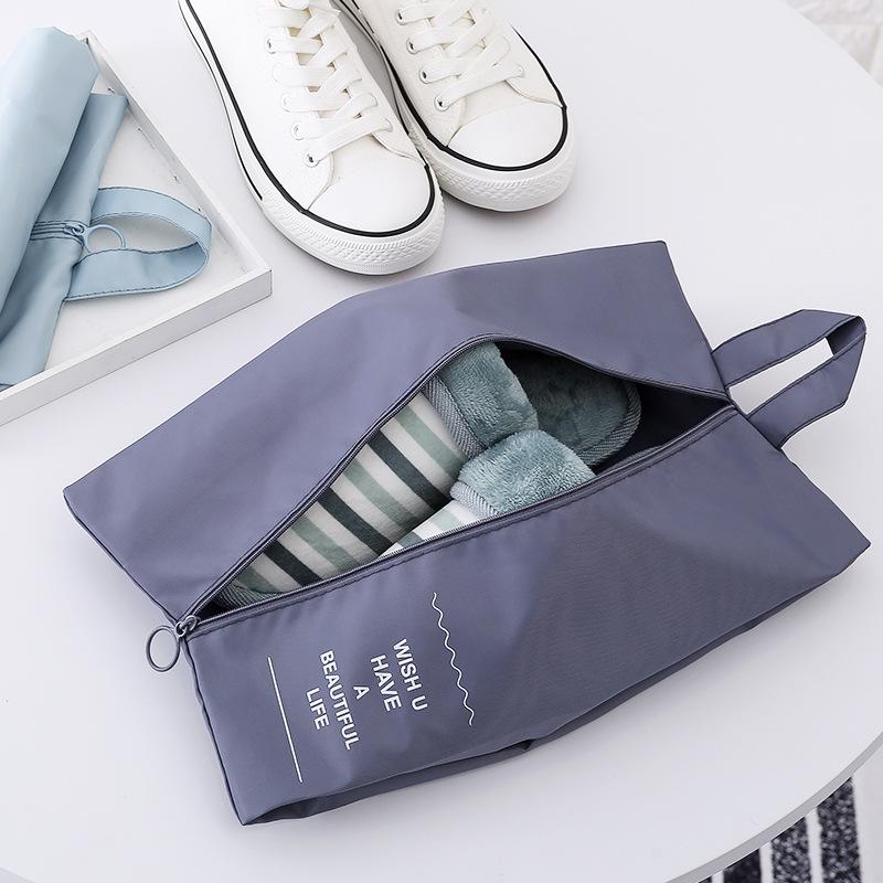 新品可定制旅行收纳鞋袋 整理包袋鞋靴套袋防水多功能收纳包 旅行