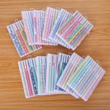 韩国文具彩色中性笔创意学习办公用品可爱水笔套装十色中性笔批发