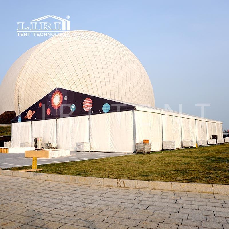 展览篷房 展销会大型帐篷 北京天津河北 丽日厂家提供租赁服务