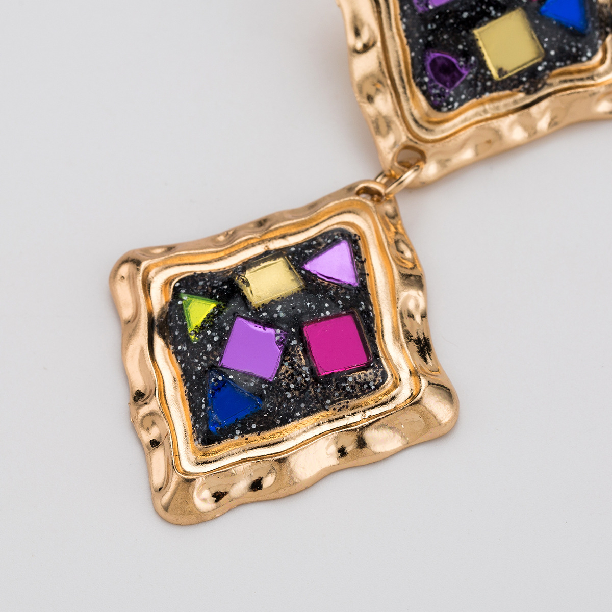 Alloy Fashion Geometric earring  (color) NHJE2031-color