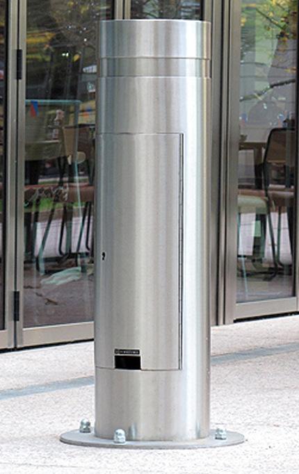 香港不鏽鋼防撞柱-不鏽鋼警示立柱