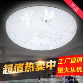Led ceiling lamp 24w smart home round bedroom lamp modern minimalist insect-proof apple lighting lighting