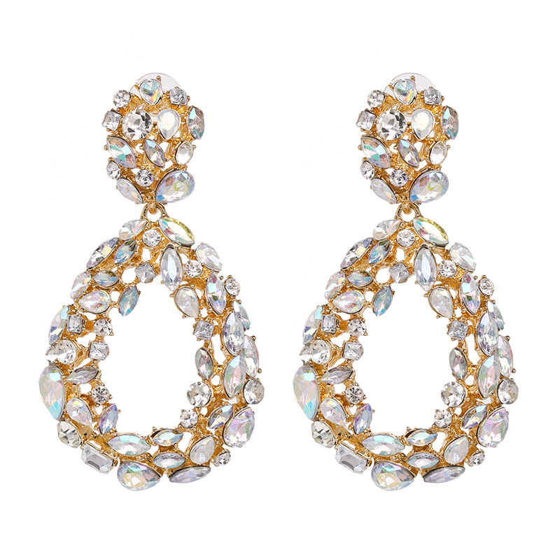 Alloy Fashion Geometric earring  (white) NHJJ5326-white