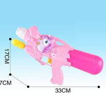 新品夏季儿童?#31243;?#25103;水玩具枪户外漂流塑料抽拉式气压水枪地摊批发