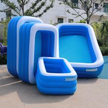 家用加厚超大成人儿童充气游泳池戏水池户外充气池宝宝游泳池
