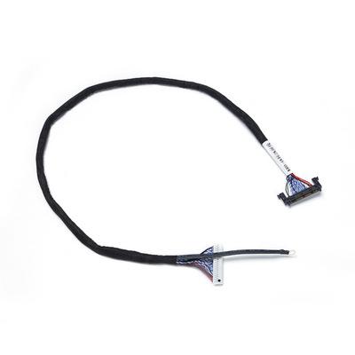 上海源头线束工厂定制 RF51P高清液晶屏线双8位 LVDS