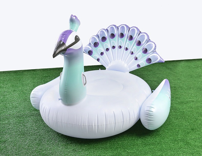 Plastic CuteSwimming ring(150-150 Peacock Mount) NHWW0162-150-150 Peacock Mount