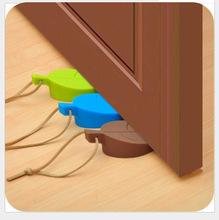 创意宝宝儿童树叶硅胶门阻门卡防风门挡 安全防撞立体可挂门塞子