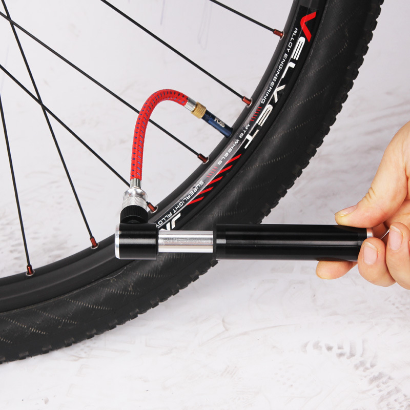 Portable Bicycle Bike Tire Hand Air Pump Inflator Replacement Hose Tube 60cm YG