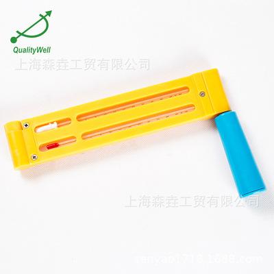 手摇式干球湿球温度计 带对照表  WD-6 sling psychrometer