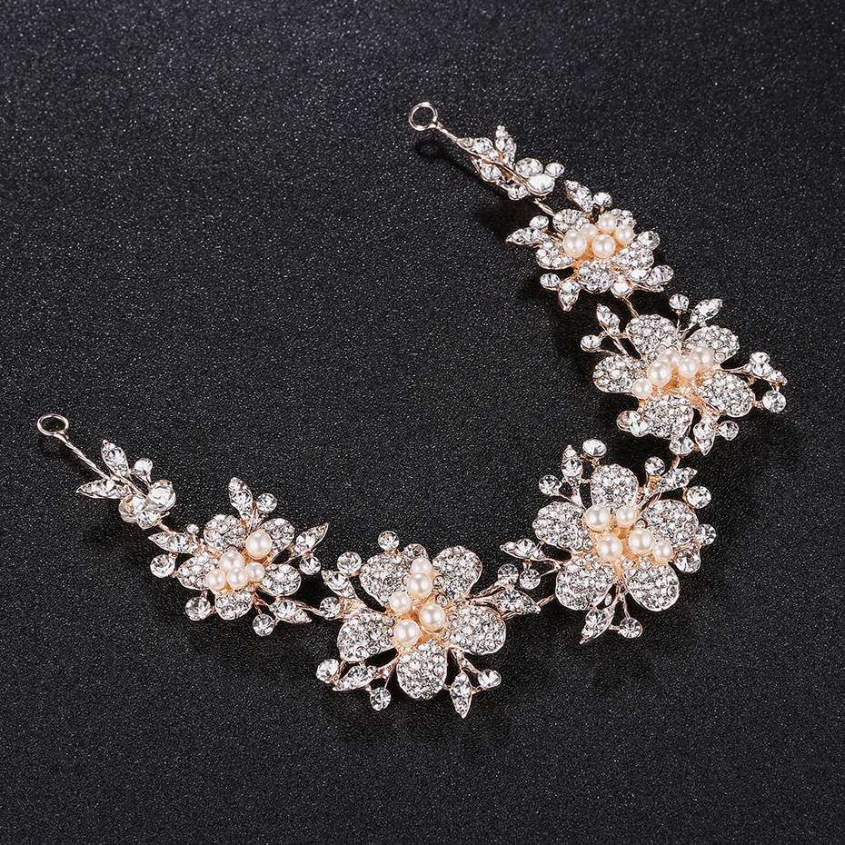 Alloy Fashion Flowers Hair accessories  (Alloy) NHHS0339-Alloy