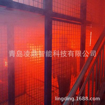 定制开发烟热逃生训练系统消防训练系统