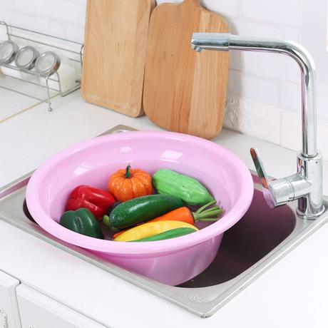 Lớn nhựa nhà máy nồi trực tiếp dầy bồn tắm giặt trong nhà chân bồn tròn bé nhà vệ sinh bồn rửa mặt Lưu vực hộ gia đình
