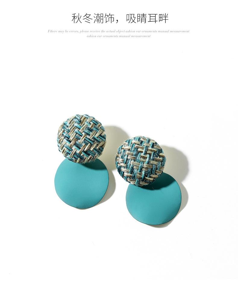 Fashion women's earring925 silver pin earrings female new wave wild earrings ear jewelry NHPP201923