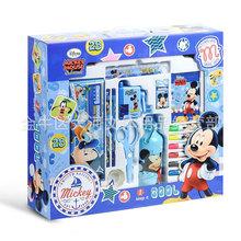 迪士尼正品廠家直發米奇藍色兒童書包文具禮盒套裝DM0900-5A