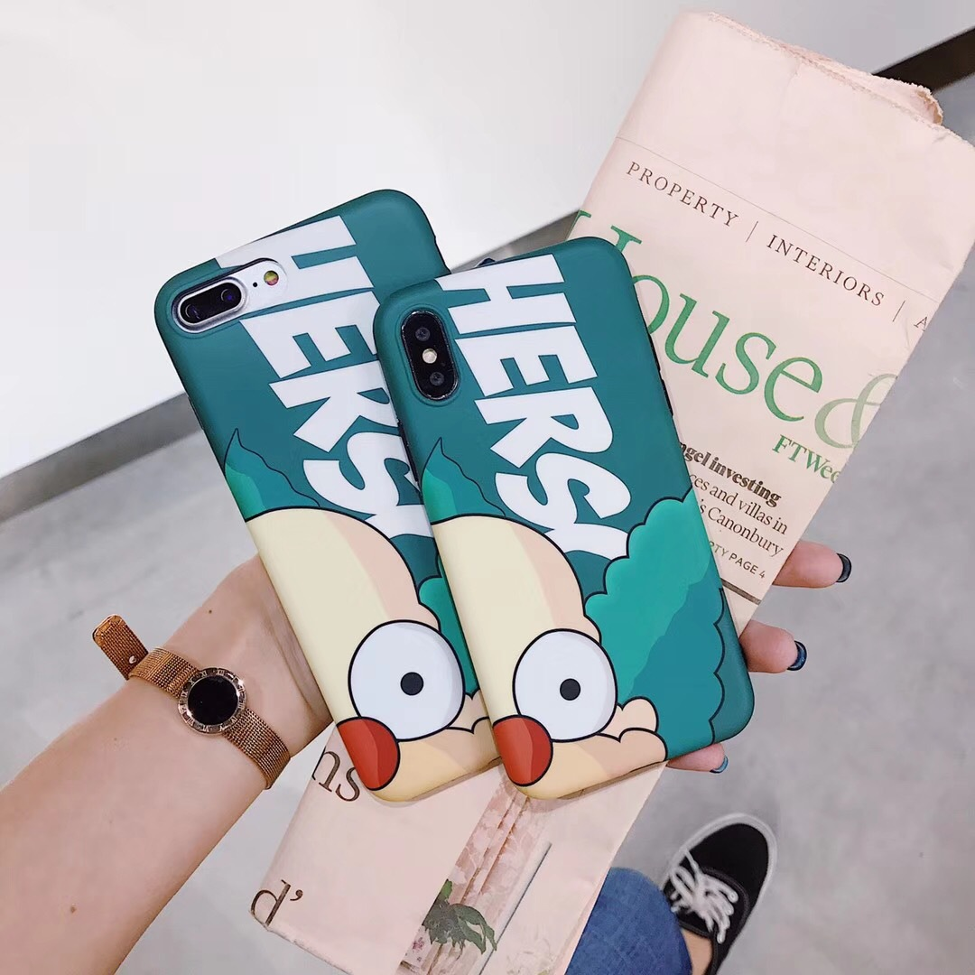 A generation of Apple iphone7 Simpson mobile phone shell 6s cartoon all-inclusive anti-drop 8plus silicone soft shell X