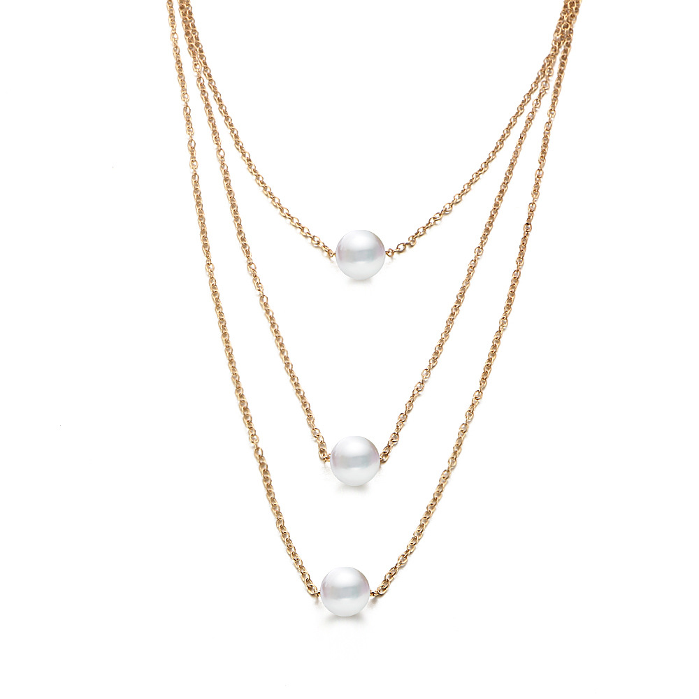 Womens geometric plating alloy other Necklaces PJ190422118717