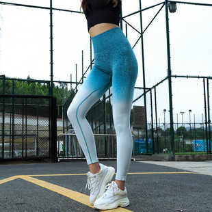 Factory direct sales of peach women's hip quick-drying pants, running fitness yoga stretch breathable hip-lifting tights