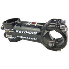 ROTUNDO碳纤维自行车把立鹅颈单车配件山地公路自行车立管60-120