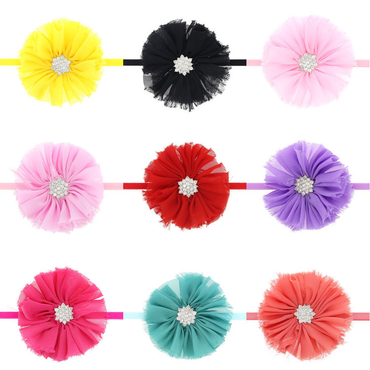 Cloth Fashion Flowers Hair accessories  red  Fashion Jewelry NHWO0899red